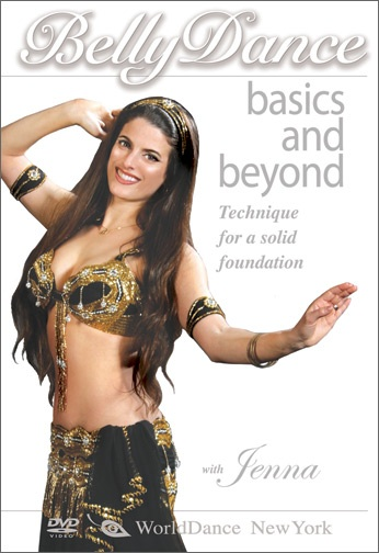 Bellydance Basics and Beyond DVD Cover