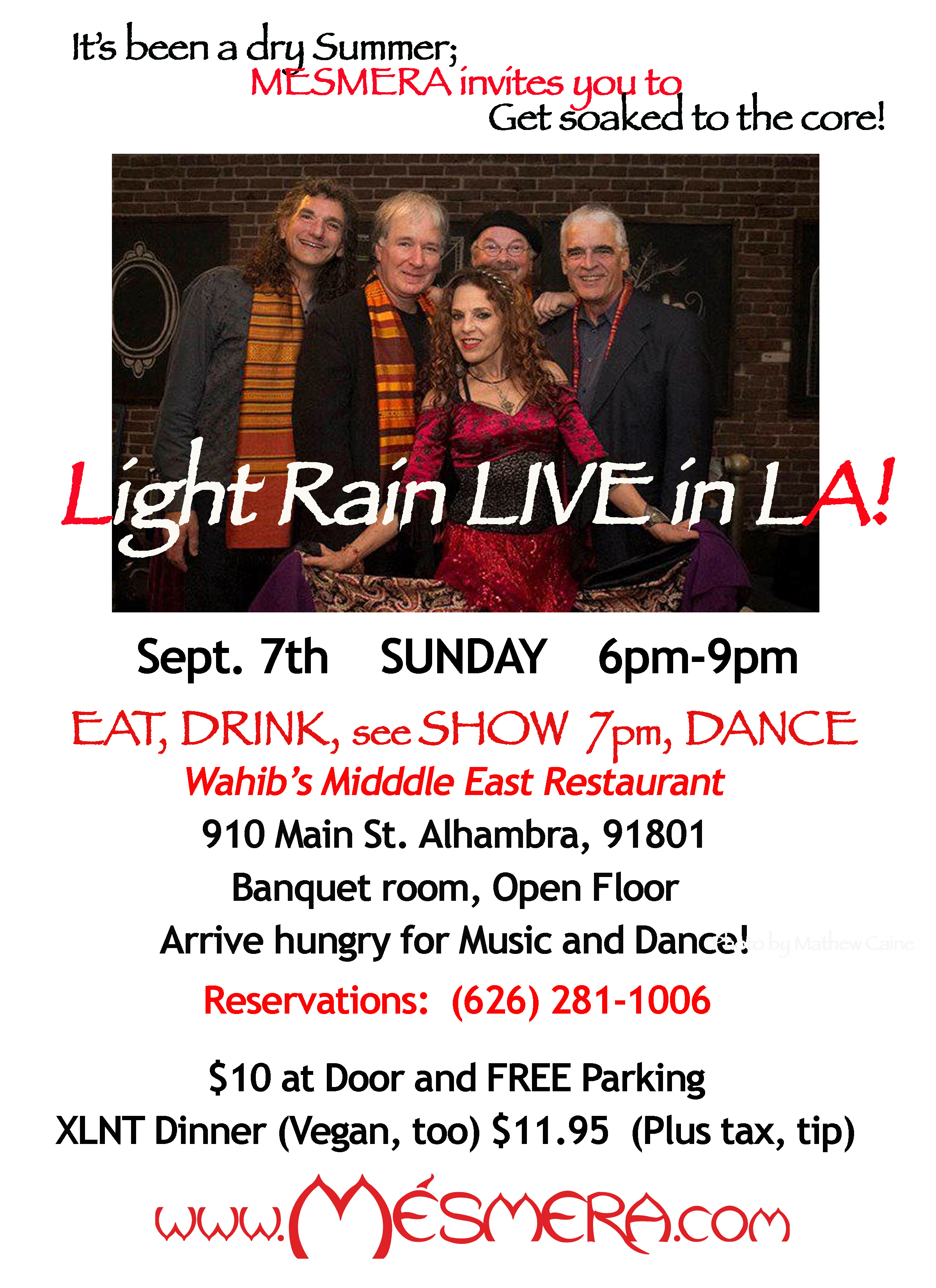 Light Rain Flyer